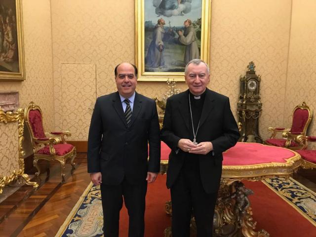 borges parolin vaticano