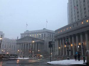 Así está la Corte de Nueva York a pocas horas de la sentencia de los narcosobrinos (Foto)