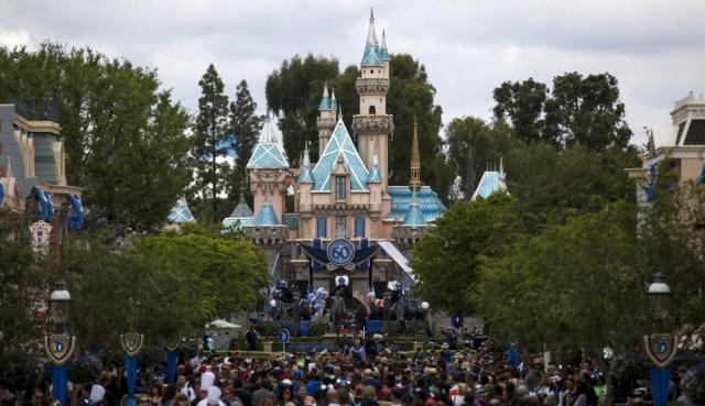 Vista general del parque Disneyland de California, EEUU. Reuters