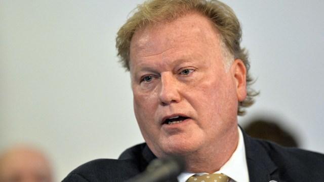El legislador por el estado de Kentucky, Dan Johnson. AP