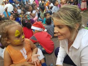 Griselda Reyes: Construiremos una casa hogar para atender a los niños en situación de calle en Baruta