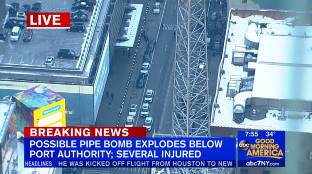 Foto: Policía de Nueva York confirma una explosión / @eSpainNews