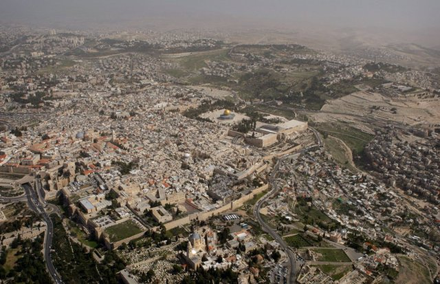 El casco viejo de Jerusalén Credit Ariel Schalit/Associated Press