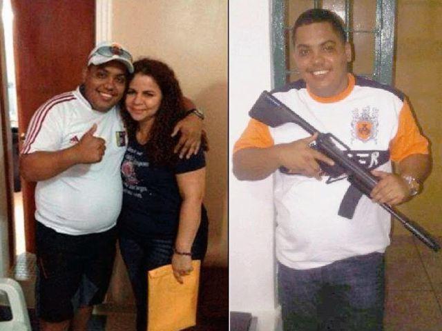 """José Brizuela Vera, mejor conocido como alias """"Wilmito"""" y la exministra de Asuntos Penitenciarios Iris Varela."""