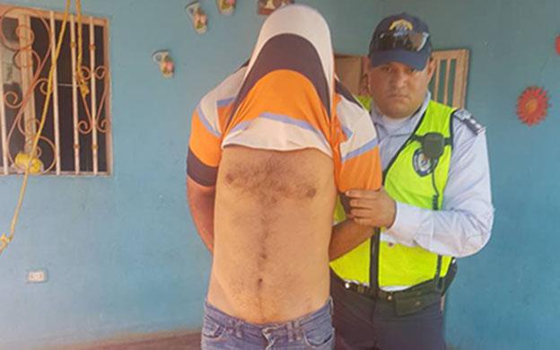 Morales quedó detenido en el Centro de Coordinación Policial Patrullaje Motorizado, a disposición del Ministerio Público