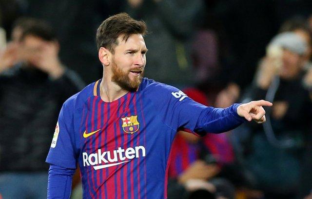 El argentino Lionel Messi. REUTERS/Albert Gea