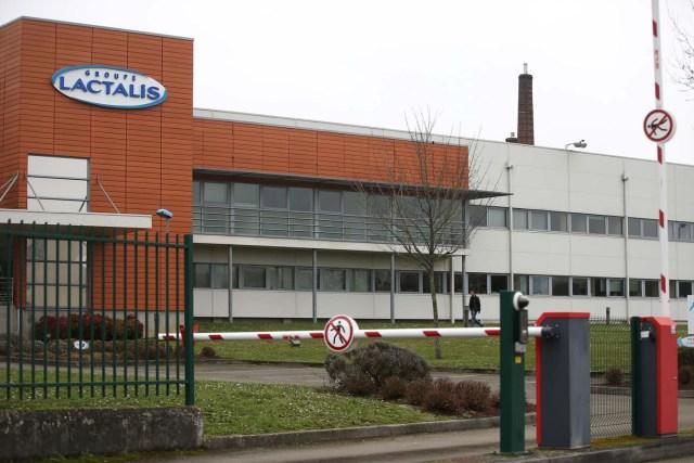 Imagen del grupo Lactalis en su sede de Laval, al oeste de Francia, tomada el 12 de enero de 2018. REUTERS/Stephane Mahe