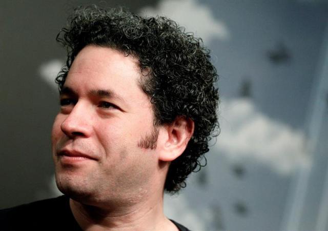 El director de orquesta venezolano Gustavo Dudamel. EFE