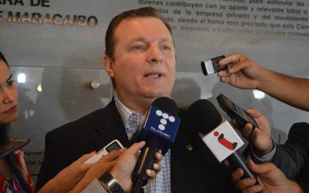 El presidente de Fedecámaras Zulia, Franco Cafoncelli