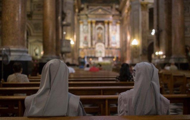 Foto: Basílica de San José de Flores, que lleva el mismo nombre que el barrio de Buenos Aires donde nació Jorge Mario Bergoglio / nytimes.com
