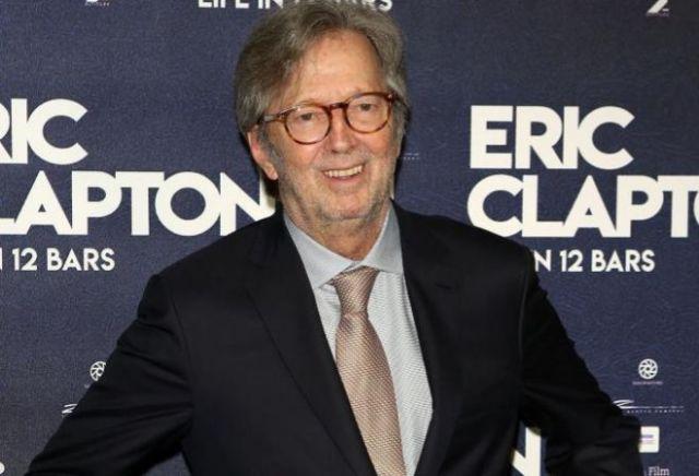 Eric Clapton, durante la premiere de su película biográfica. Dave Benett/WireImage