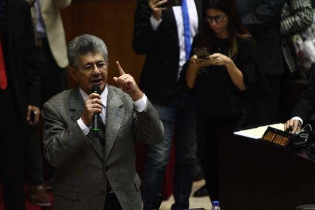 Ramos Allup: Ningún candidato opositor debería postularse a las presidenciales fuera de la Unidad