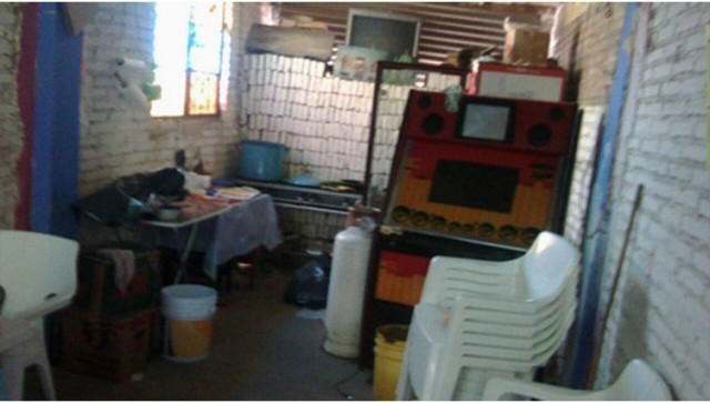 El local en el centro de Taxco donde se encontraron los restos de Magdalena. Foto Infobae
