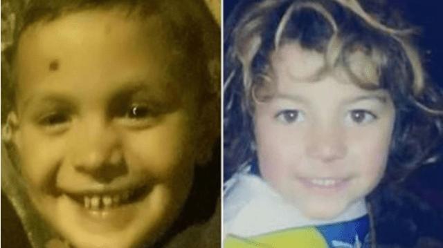 Los menores fallecidos: Tiziano Vicente y Kevin García.