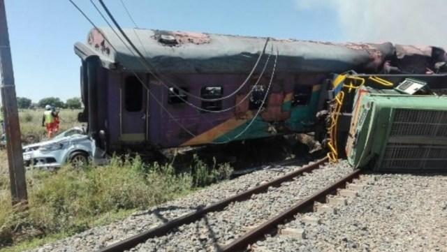 Accidente en Sudáfrica / Foto: Twitter