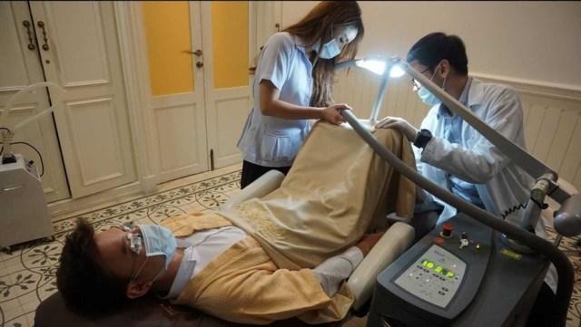 El tratamiento laser para blanquear pene se ofrece en el Hospital Le Ler de Cirugía Cosmética en Bangkok, Tailandia. (Fotos de la página oficial de Hospital Le Ler Cirugía Cosmética )