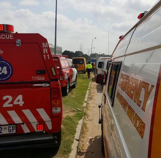 colisión de trenes en Sudáfrica