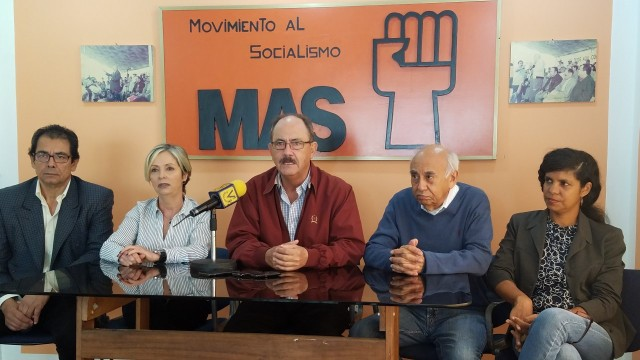 secretario general del Movimiento al Socialismo MAS, Felipe Mujica