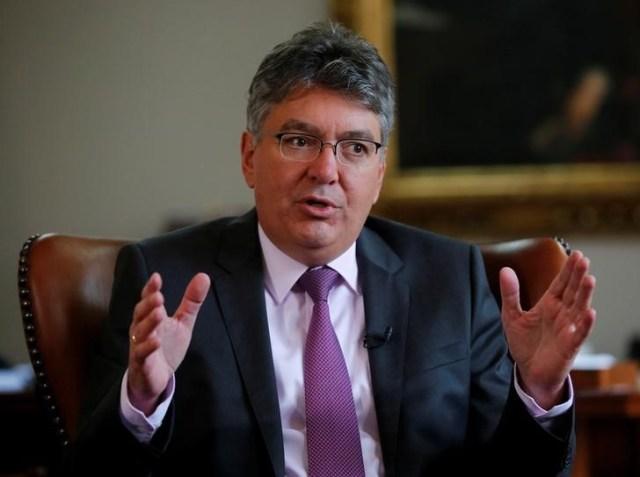 Fotografía de archivo del ministro de Hacienda de Colombia, Mauricio Cárdenas REUTERS/Jaime Saldarriaga