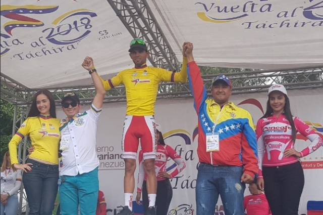 El ciclista venezolano Pedro Gutiérrez (Foto: eluniversal.com)