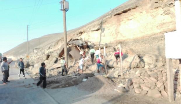 Justo Palomino Yucra, de 55 años de edad, se encontraba en su vivienda de adobe cuando una piedra cayó y colapsó, generando su muerte. (Foto: cortesía)