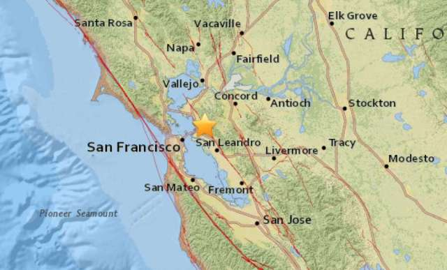 sismo san francisco