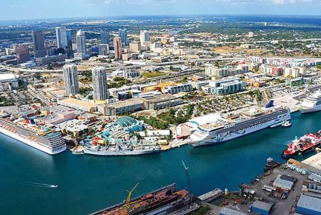 Vista general de la Bahía de Tampa