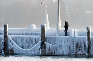 FOTOS: La bestia del Este, una ola de frío siberiano, azota a toda Europa