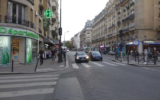 Calle en donde sucedieron los hechos.  Foto cortesía: Foto thelocal.fr