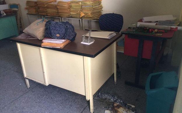 Nuevamente se registró un robo en las instalaciones del plantel. (Foto: Cortesía)