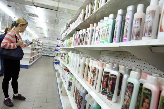 Un desodorante en barra para hombres cuesta 215.700 bolívares, mientras que en agosto pasado se podía conseguir en 26.165 bolívares (Foto extraída de El Nacional)