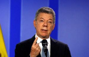 Santos convocará sesiones extra del Congreso si no se aprueba Justicia de Paz