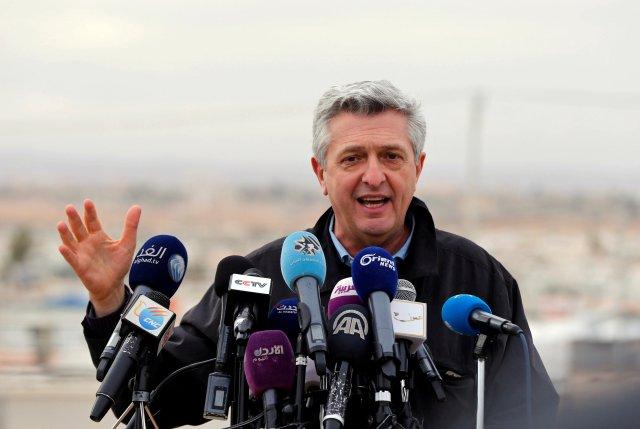 El Alto Comisionado de Naciones Unidas para los Refugiados, Filippo Grandi. REUTERS/Muhammad Hamed