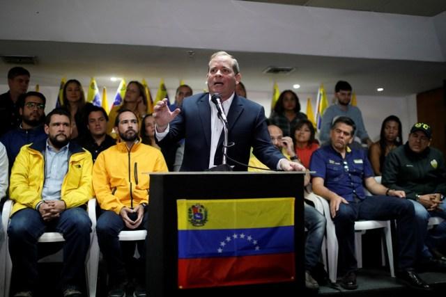 Juan Pablo Guanipa, Caracas, Venezuela, February 21, 2018. REUTERS/Marco Bello