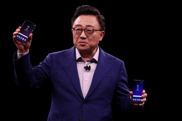 Samsung presentó sus nuevos teléfonos tope de gama, Galaxy S9 y S9+ REUTERS/Sergio Perez