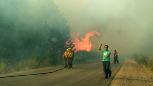 Tres venezolanos heridos en incendio intencional en Brasil