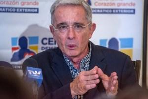 Centro Democrático aclaró que el estado de salud de Uribe es óptimo, pese a su contagio (Video)