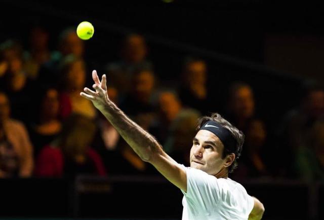 Roger Federer. Foto EFE