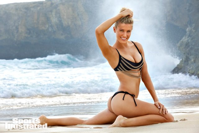 Swimsuit 2018: Aruba Athletes Genie Bouchard  Aruba 11/9/2017 X161518 TK2 Credit: James Macari