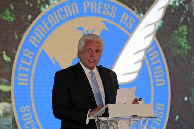 El presidente de la Sociedad Interamericana de la Prensa (SIP), Gustavo Mohme / EFE/Esteban Biba