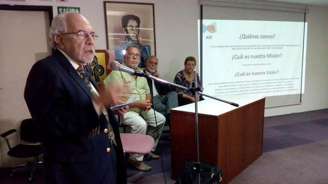 Miembros de la Alianza Venezolana por la Salud. Foto archivo.