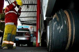 Bomberos de San Cristóbal se declararon en cierre técnico