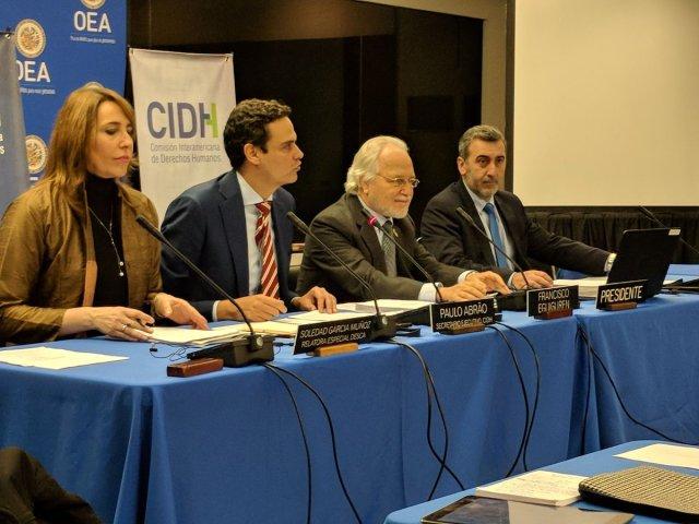 CIDH presenta informe sobre la situación de derechos humanos en Venezuela este