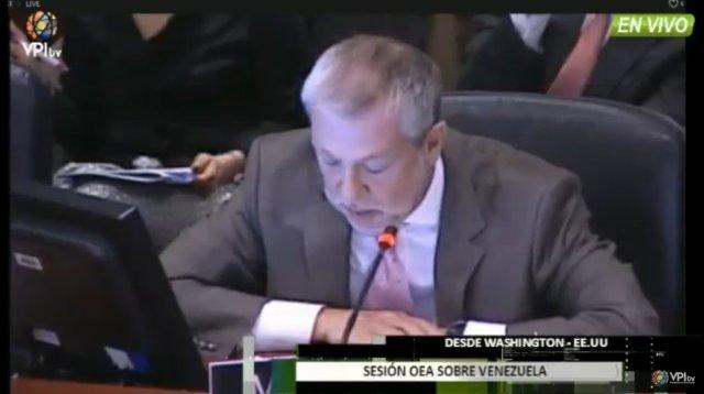 Representante de la delegación de México (Foto: Captura de TV)