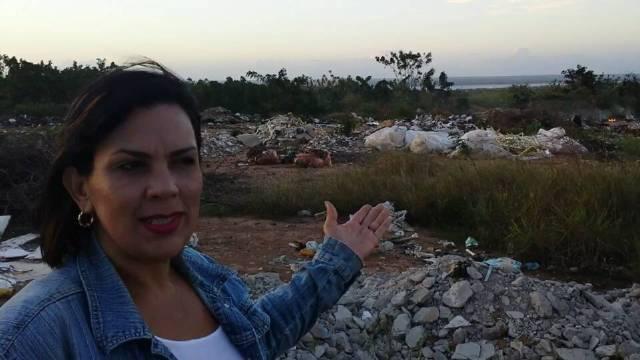 Dorkis Castro sobre cementerio municipal