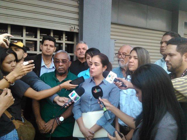 Diputada Karin Salanova // Foto Prensa