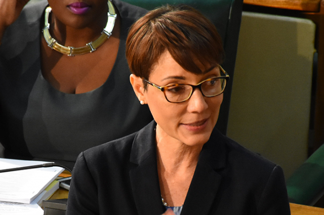 Ministra de Asuntos Exteriores y Comercio Exterior de Jamaica, Kamina Johnson Smith / Foto Jamaica Gov