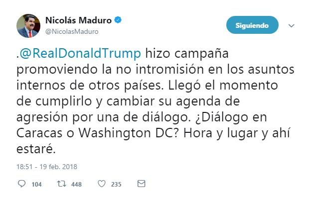 MADURO TUIT