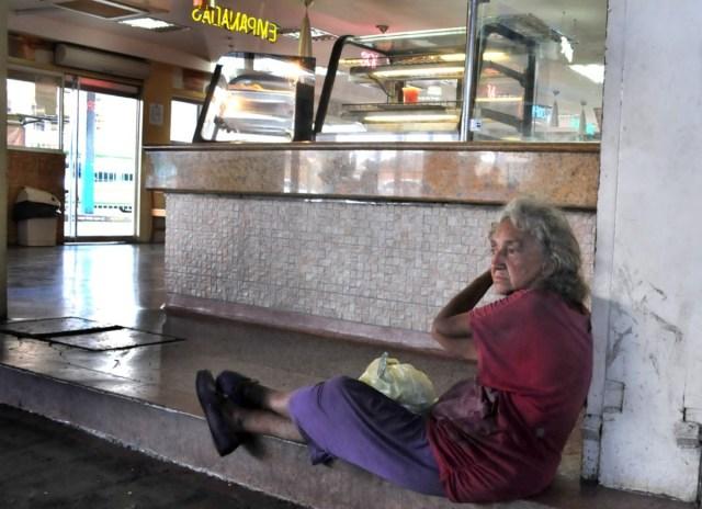 Dora vive en el Big Low Center (Foto: Andrés Galindo)