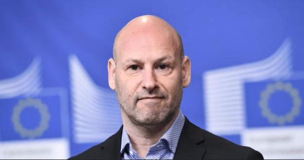 Joseph Lubin, cofundador de Ethereum y con un valor neto de criptodivisas entre 1.000 y 5.000 millones de dólares, según Forbes (Foto: Emmanuel Dunand / AFP)